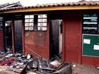 Três são detidos suspeitos de atear fogo em escola pública de Goiânia