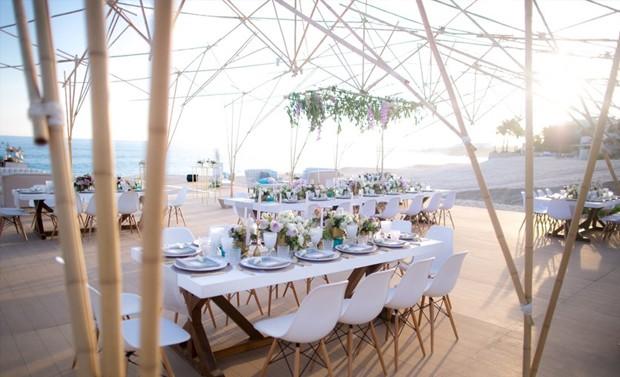 Detalhes do décor do casamento (Foto: Reprodução)