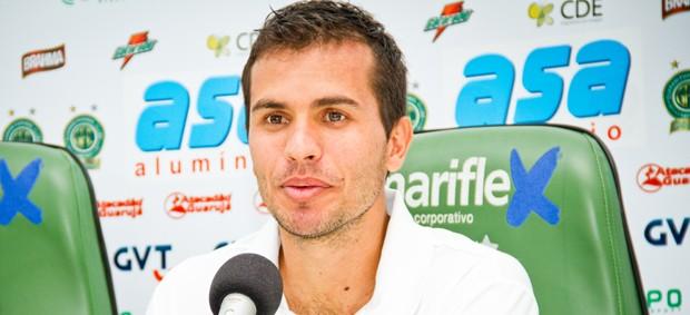 Danilo Sacramento, meia do Guarani (Foto: Rodrigo Gianesi / Globoesporte.com)