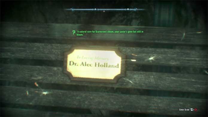 Alec Holland, a forma humana do Monstro do Pântano (Foto: Reprodução/Rocksteady)