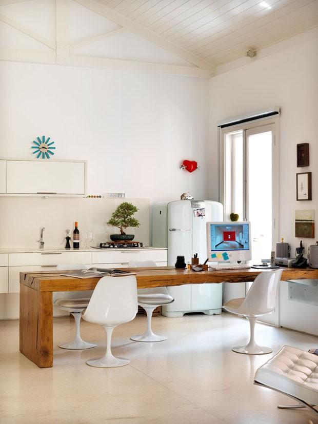 decoracao de cozinha e quarto juntos : decoracao de cozinha e quarto juntos:10 escritórios improvisados – Casa Vogue