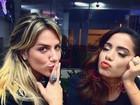 'Quebra tudo', diz Anitta a Giovanna Ewbank antes do 'Dança dos famosos'