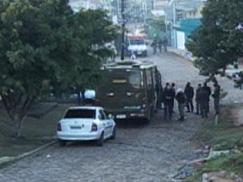 Cárcere privado em Sapucaia do Sul durou mais de 20 horas (Foto: Reprodução/RBS TV)