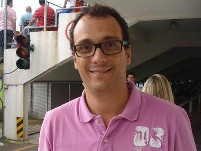Alex Brasil, diretor de futebol do Paraná Clube (Foto: Fernando Freire/GLOBOESPORTE.COM)
