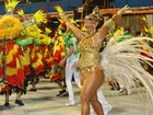 Vivi Araújo é eleita a melhor rainha do primeiro dia de desfiles em São Paulo