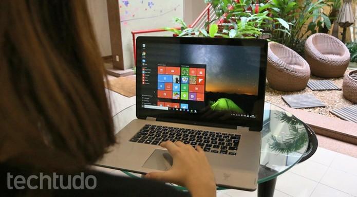 Ponto forte da versão com processador Skylake é a performance gráfica superior (Foto: Isabela Giantomaso/TechTudo)
