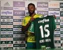 """Críticas no São Paulo motivam Michel a """"provar em campo"""" pelo Palmeiras"""