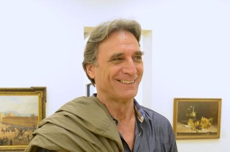 Herson Capri, o Plínio de 'Sangue bom' (Foto: Zé Paulo Cardeal/ TV Globo)
