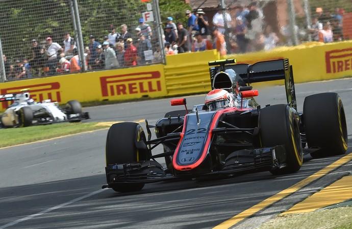 Button, McLaren, GP da Austrália (Foto: AFP)