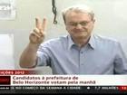 Marcio Lacerda vota em Belo Horizonte