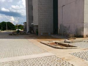 Obra fórum Uberaba (Foto: Assessoria TJMG/Divulgação)