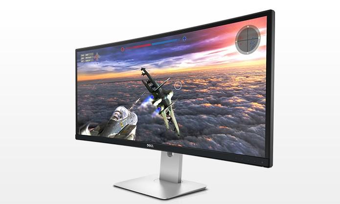 Monitor Dell UltraSharp de 34 polegadas Curvo é ideal para games, edições e filmes (Foto: Divulgação/Dell)