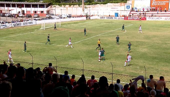Tricordiano vence o Uberlândia por 5 a 4 pelo Módulo II do Mineiro (Foto: Reprodução EPTV)