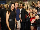 Arnold Schwarzenegger visita feira esportiva que leva seu nome, no Rio
