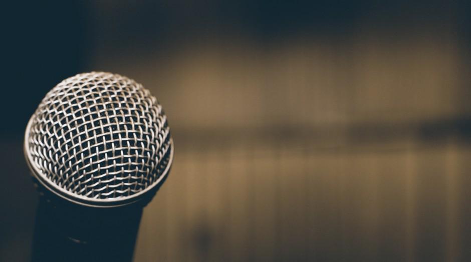 Microfone, palestra, apresentação (Foto: Reprodução/Pexels)