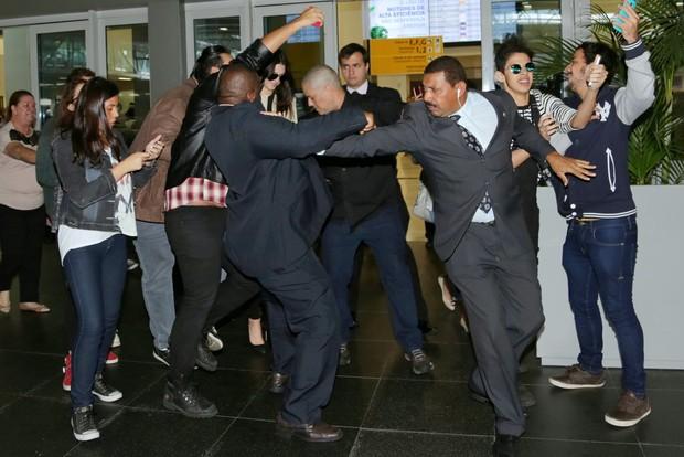 Kendall Jenner (Foto: Denilson Santos , Leo Franco e Francisco Cepeda / AgNews)