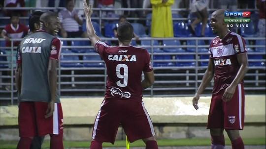 Personagem: Neto marca 7º gol no ano, tira onda e fala em acesso do CRB