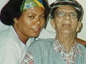 Kátia e Chico eram vizinhos e amigos de infância (Foto: reprodução/TV Integração)