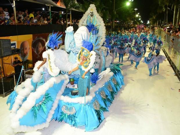 Marquês de Sapucaí no desfile das escolas de samba do carnaval 2015 (Foto: Renê Marcio Carneiro/PMC)