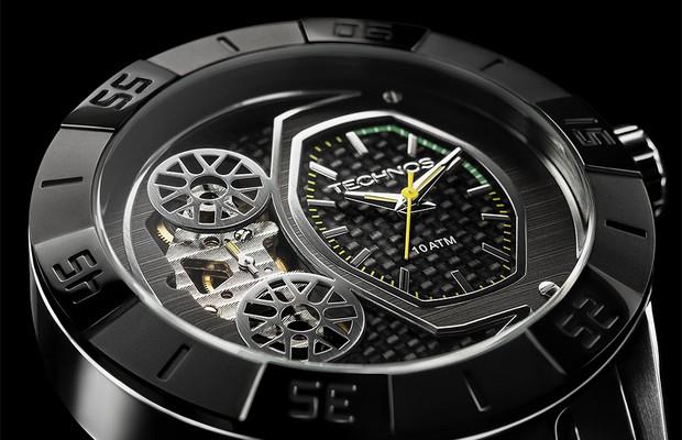 Relógio da Technos em homenagem a Hélio Castroneves (Foto: Divulgação)
