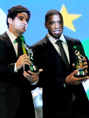 jucilei e willians, prêmio craque do brasileirão (Foto: André Durão / Globoesporte.com)