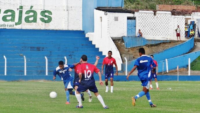 Sub-20 do CSA venceu amistoso no campo do Mutange (Foto: Henrique Pereira/ GloboEsporte.com)