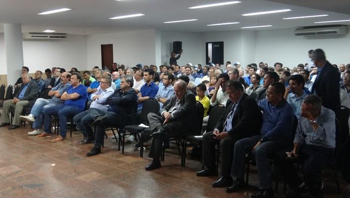 Posse da diretoria do CSA (Foto: Leonardo Freire/GloboEsporte.com)