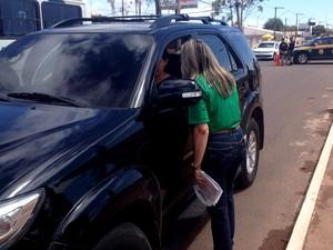 Atividades educativas e fiscalizações serão realizadas rodovida operação prf acidentes estradas fim de ano (Foto: Jéssica Alves/G1)