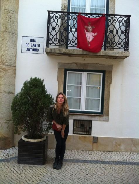 Giovanna Ewbank em Portugal (Foto: Arquivo pessoal)