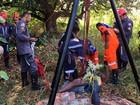Homem é resgatado após cair em cisterna de 18 metros na Bahia