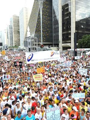 Corrida São Silvestre 2011 (Foto: Sérgio Shibuya/MBraga Comunicação)