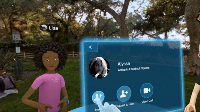Facebook quer permitir que se encontre com amigos em realidade virtual