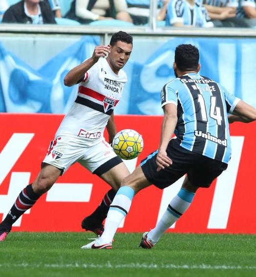 atenção, galera! (Rubens Chiri / site oficial do São Paulo FC')