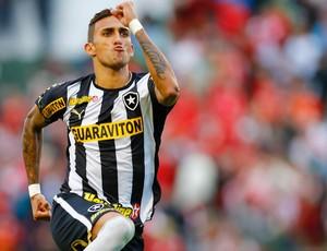Rafael Marques Botafogo gol portuguesa (Foto: Piervi Fonseca / Agência Estado)