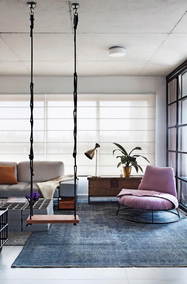 Apartamento decorado pelo escritório Garimporio (Foto: Marco Antonio / Editora Globo)