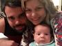 Bárbara Borges brinca com semelhança do filho caçula com o pai