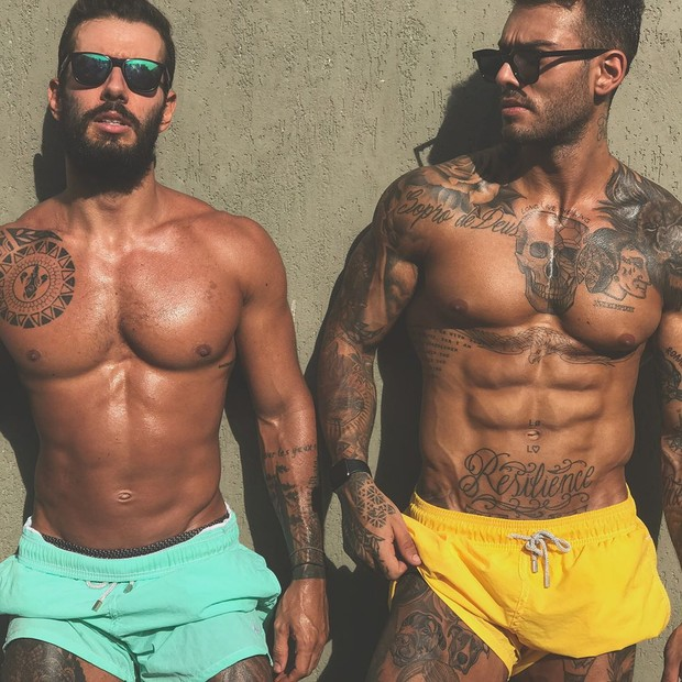 Lucas Lucco e Marcos Vianna (Foto: Reprodução/Instagram)