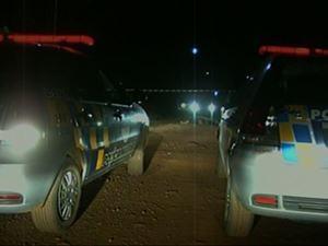 Polícia registra três homicídios na mesma noite em Luziânia, Goiás (Foto: Reprodução/TV Anhanguera)