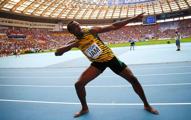 usain bolt mundial de atletismo (Foto: Agência Reuters)