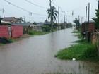 Chuva causa alagamentos e deixa moradores sem luz na capital e RMC