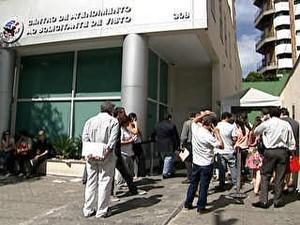 atraso visto americano São Paulo (Foto: Reprodução/TV Globo)