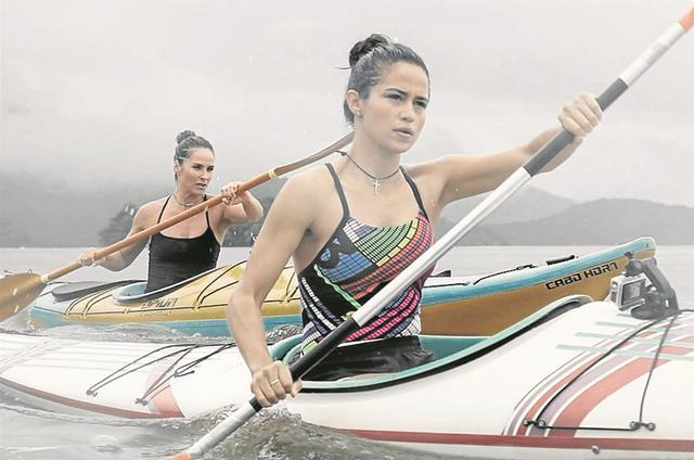 Nanda Costa grava 'Mulheres espetaculares' com Juliana Sana (Foto: Divulgação)