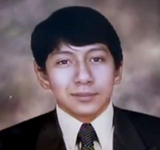 Kevin Espada, torcedor boliviano morto ao ser atingido por sinalizador (Foto: Reprodução SporTV)