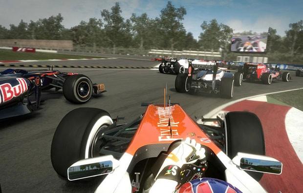 Circuito de Monza (foto) está na demonstração de 'F1 2012' (Foto: Divulgação)