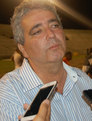 Ariano Wanderley, interventor da FPF (Foto: Silas Batista / GloboEsporte.com)