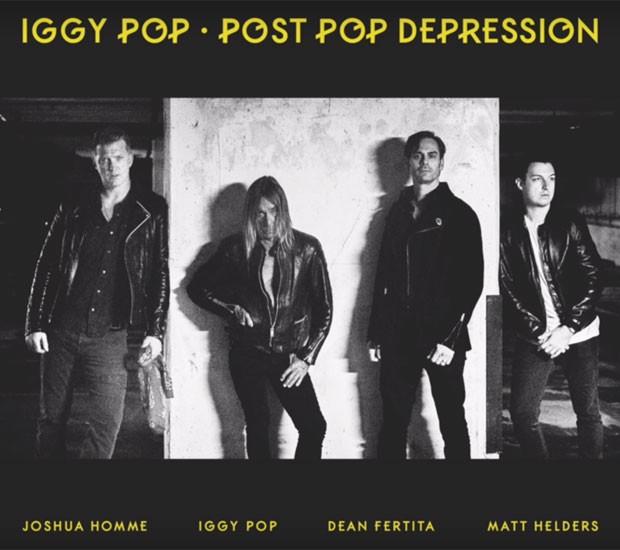 Iggy Pop vai lançar disco de inéditas em parceria com Josh Homme