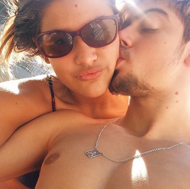 Giulia Costa e Eike Duarte (Foto: Instagram / Reprodução)