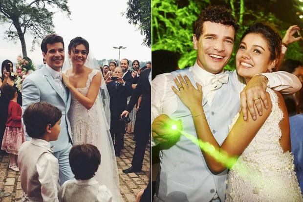 CASAMENTOS - Sophie Charlotte e Daniel de Oliveira - 2015 (Foto: Instagram / Reprodução)