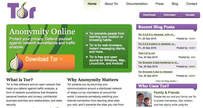 Tor Project, navegador e serviço estilo VPN (Foto: Reprodução/Felipe Vinha)