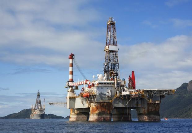 Plataforma de petróleo ; Agência Nacional de Petróleo ;  (Foto: Thinkstock)